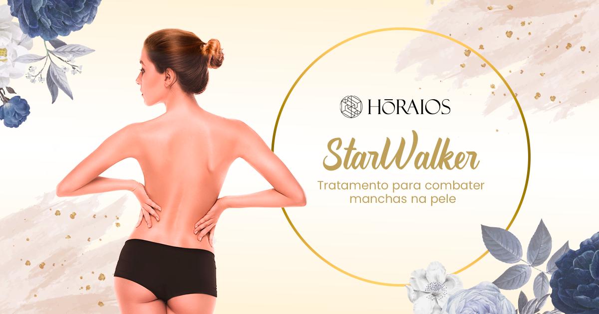 StarWalker: tratamento desejo para combater manchas na pele